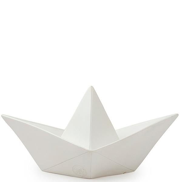papierboot lampe, weiss