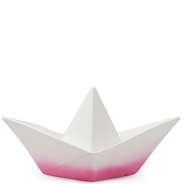 papierboot lampe, pink