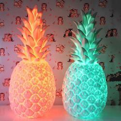ananas lampe, rose