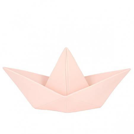 papierboot lampe, rose
