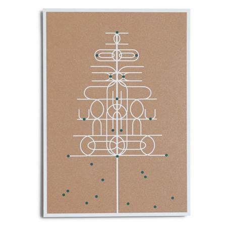 """""""maibaum"""" postkarte"""