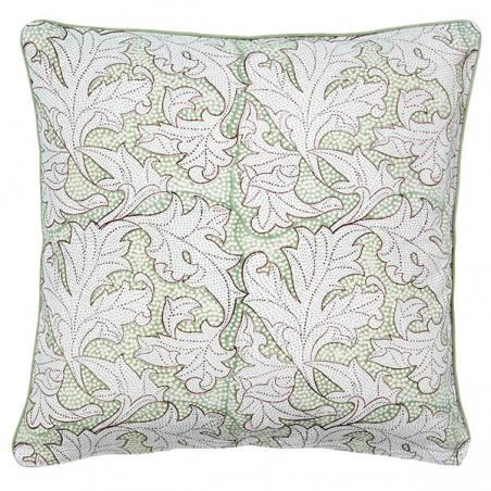 kissenhülle, flora dusty green