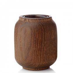 poppy, vase eiche geräuchert 11cm