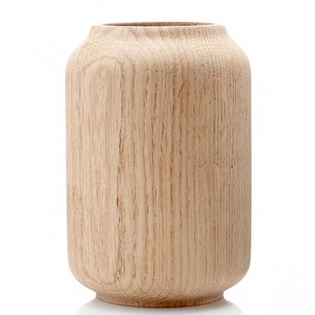 poppy, vase eiche geseift 14cm