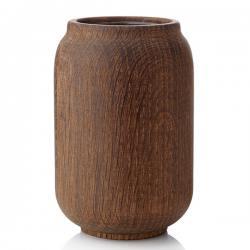 poppy, vase eiche geräuchert 14cm