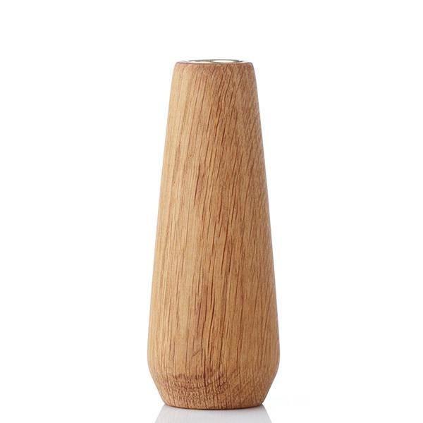 torso, vase eiche geölt 15cm