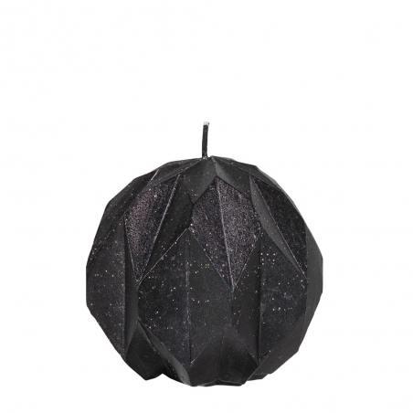 diamondkerze, schwarz