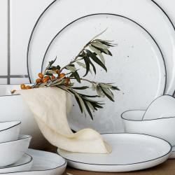 broste copenhagen porzellan salt weiss schwarzer rand wunderschoen-gemacht