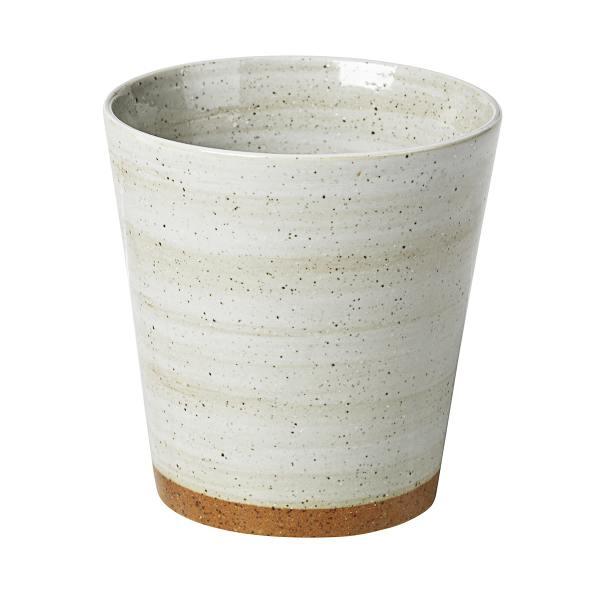 "broste copenhagen keramik becher ""grod"" brauner rand wunderschoen-gemacht"