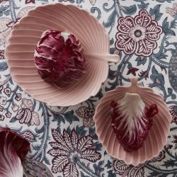 """keramikschale, """"leaf"""" rose"""