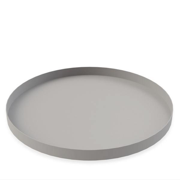 cooee design rundes tablett grau wunderschoen-gemacht