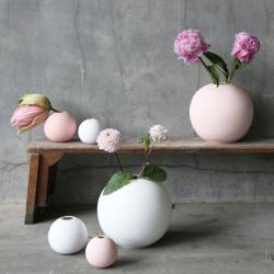 cooee design rundes tablett rosa wunderschoen-gemacht