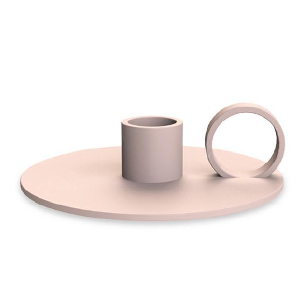 cooee design kerzenhalter loop rosa wunderschoen-gemacht