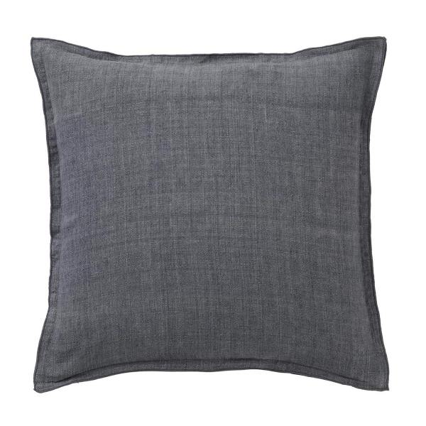 bungalow dk graues leinenkissen linen grey wunderschoen-gemacht