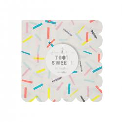 papierservietten sprinkles Konfetti wunderschoen-gemacht