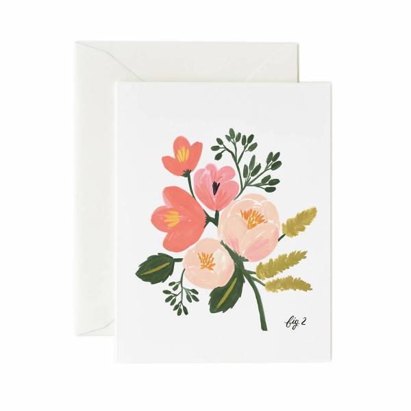 rifle paper co. karte pink peony pfingstrosen rosa wunderschoen-gemacht