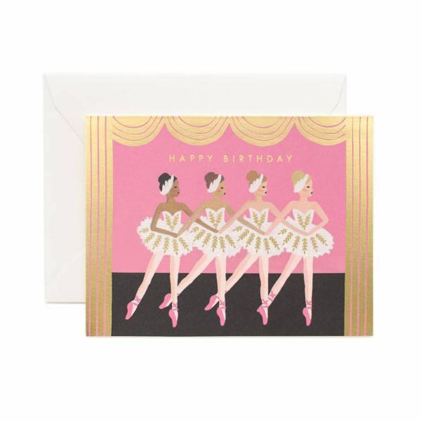 rifle paper co birthday ballett tänzerinnen ballerinas wunderschoen-gemacht