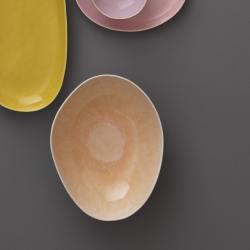 bungalow dk keramikschalen ovale salat schalen jazz coral rosa wunderschoen-gemacht