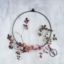 strups schwarz ring kranz  wunderschoen-gemacht