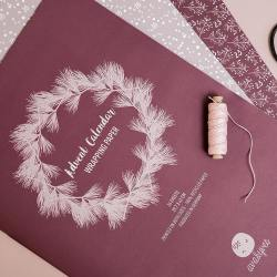 ava yves 24 adventskalender geschenkpapiere xmas dreams baumschmuck wunderschoen-gemacht