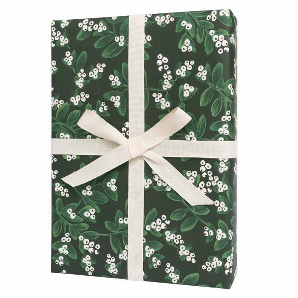 rifle paper co geschenkpapiere   evergreen mistelzweige wunderschoen-gemacht