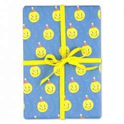 ava und yves geschenkpapiere ballons blau gelb  wunderschoen-gemacht