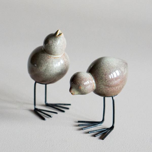 dbkd keramikvoegel easter birds multi sandfarben wunderschoen-gemacht