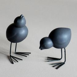 dbkd keramikvoegel easter birds schwarze wunderschoen-gemacht