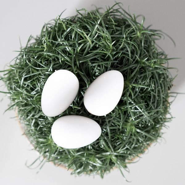 dbkd deco eggs dekoeier keramik eier weisse wunderschoen-gemacht