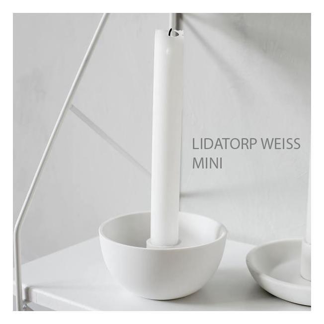 storefactory kerzenleuchter keramikschale mini weiss wunderschoen-gemacht