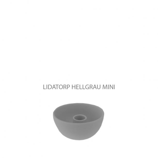 storefactory kerzenleuchter keramikschale hellgrau mini wunderschoen-gemacht