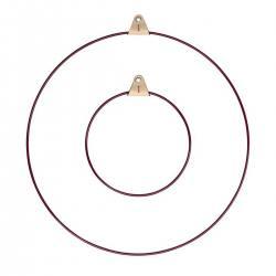 strups ring kranz dunkelroter wunderschoen-gemacht