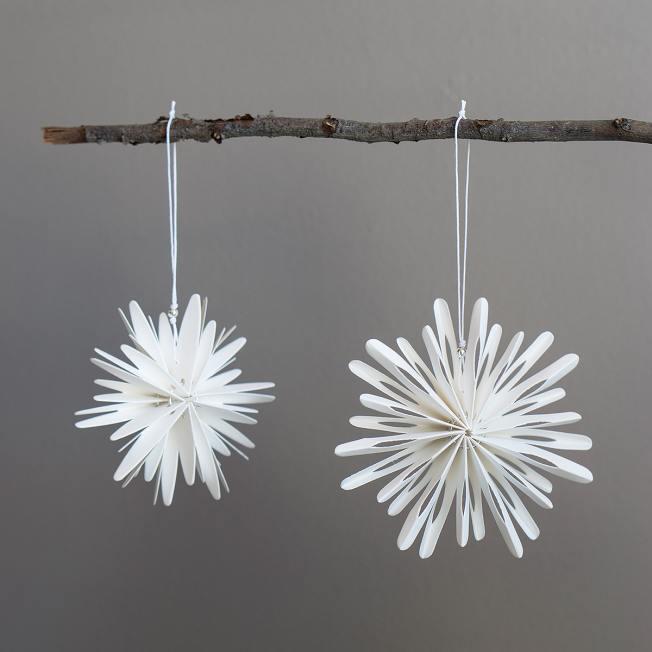dbkd papier schneeflocken paper snowflakes weiss wunderschoen-gemacht