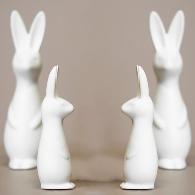 dbkd keramik osterhase swedish rabbit weisser small wunderschoen-gemacht