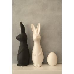 dbkd keramik osterhase swedish rabbit dunkelgrauer wunderschoen-gemacht