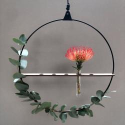 strups ring kranz aufsatz floating vases reagenzglasvasen holzsteg wunderschoen-gemacht