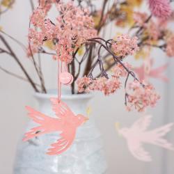 bungalow dk papier deko vogel voegel neem birds wunderschoen-gemacht