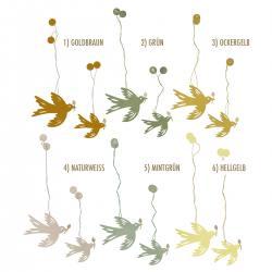 bungalow dk papiervogel voegel paper deco birds limelight wunderschoen-gemacht
