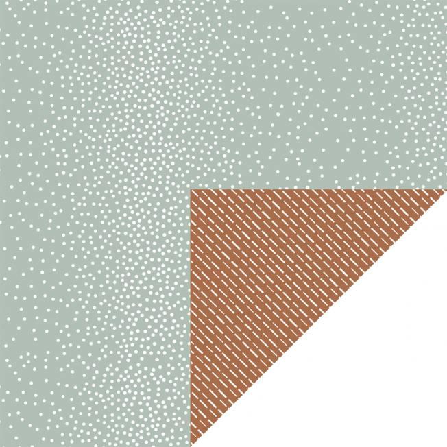 jurianne matter geschenkpapier mint dots brown dashes gruene puenktchen  braune striche wunderschoen-gemacht