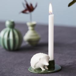 dottir design kerzenstaender birthday stories igel hedgehog moss gruen wunderschoen-gemacht