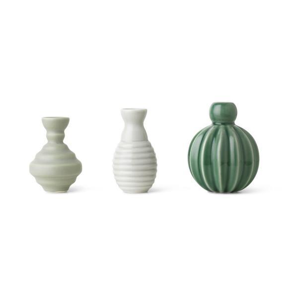 """dottir design Minivasen Set """"Samsurium Minibell"""" Green gruen wunderschoen-gemacht"""