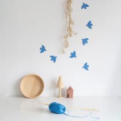 jurianne matter bird gift tags vogel voegel anhaenger blaue wunderschoen-gemacht