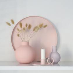 cooee design rundes tablett circle rosa wunderschoen-gemacht