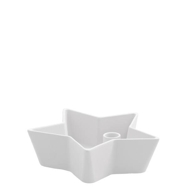 storefactory kerzenleuchter stern keramikschale stjaerna small weiss wunderschoen-gemacht