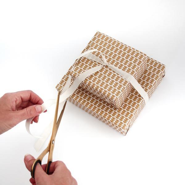 jurianne matter geschenkpapier blaettchen blaetter leaves goldbraun wunderschoen-gemacht