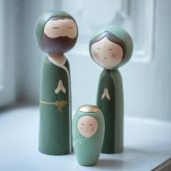 bungalow dk weihnachtskrippe heilige familie holy family wunderschoen-gemacht