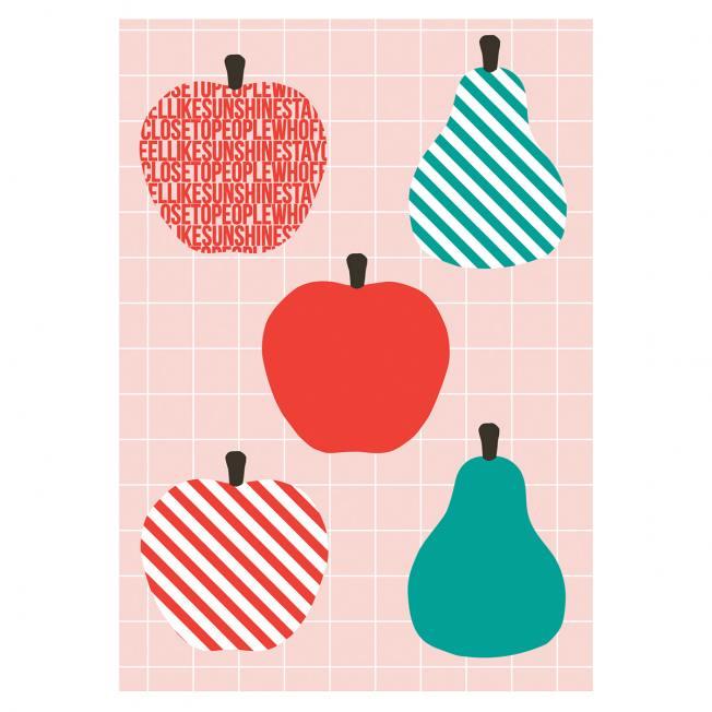 jurianne matter geschenanhaenger gift tags fruit apfel birne wunderschoen-gemacht