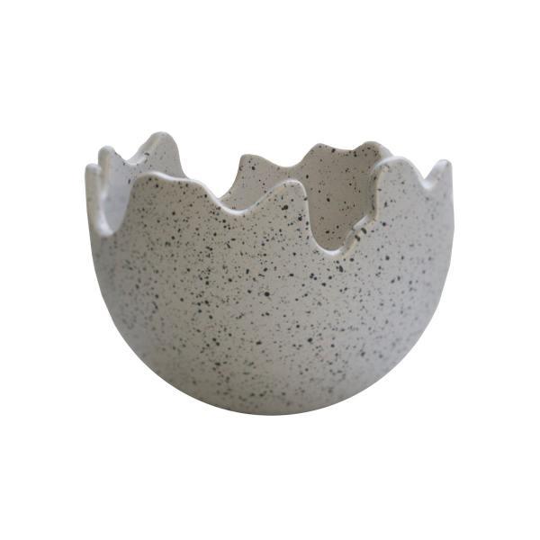 dbkd keramikschalen eierschalen happy easter grau sprenkeln wunderschoen-gemacht