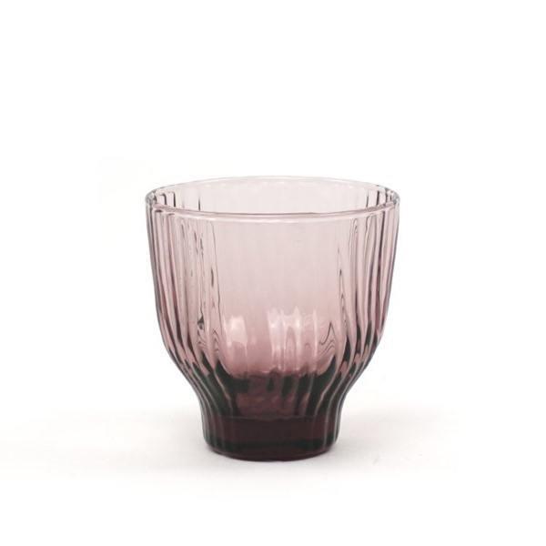 kinta trinkglas amnis rosa rosy wellenmuster wunderschoen-gemacht