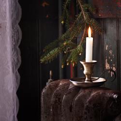 Strömshaga Kerzenstaender Kerzenleuchter, Kerzenstaender Gunnar Messing wunderschoen-gemacht
